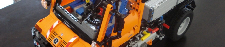 Lego Unimog U400 Kit – Modified by Harman Motor Works