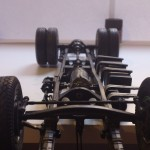 Underside of chassis