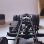 Mostly complete rolling chassis