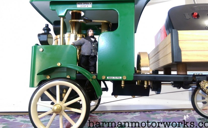 Steam Lorry! – Wilesco D320 (Initial Run Review)