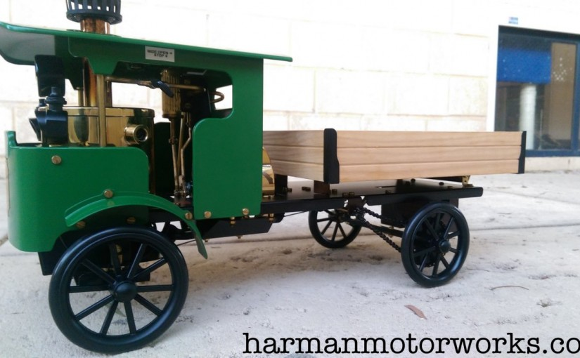 Paint Shop – Wilesco D320 Steam Lorry